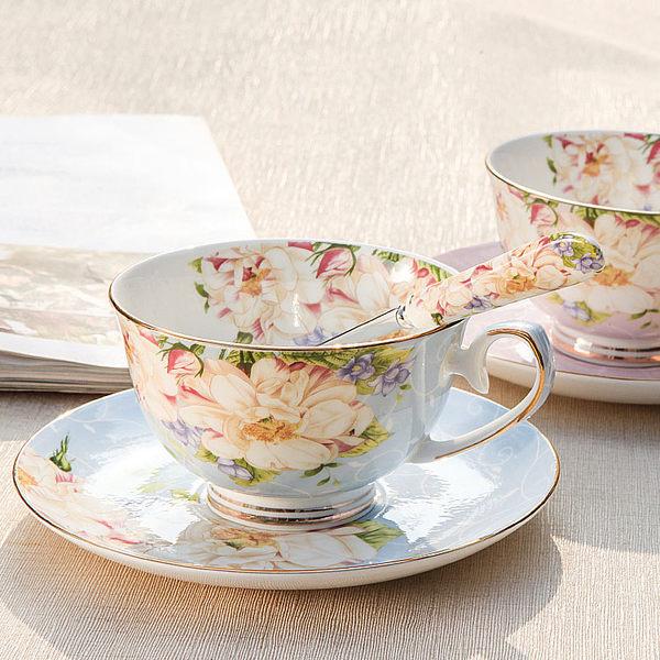 英式骨瓷咖啡杯套裝歐式下午茶茶具創意陶瓷簡約家用紅茶杯【限時促銷八八折搶夠】