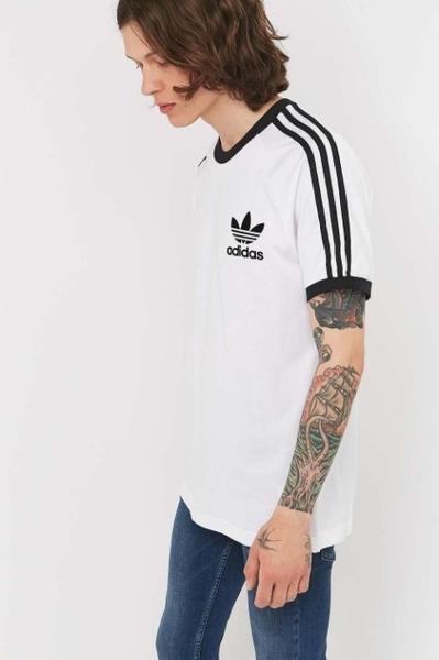 愛迪達 adidas Originals California 三葉草 T-Shirt 短T 三線 AZ8128/澤米