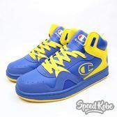 Champion 藍黃 高筒 籃球鞋  男 711210135 ☆SP☆