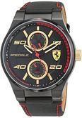 法拉利Ferrari -Speciale 兩眼男士士手錶 830384 跑車腕錶 男錶女錶對錶法拉利手錶品牌手錶