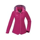 【買就送!2用後背包】[ATUNAS] 歐都納 (女) 樂遊休閒2L GTX+羽絨二件式外套 紫紅 (A-G1811W-B)