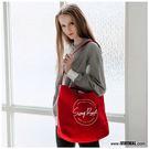 【橘子包包館】STAYREAL SR本色帆布袋(大) BS18009 紅色