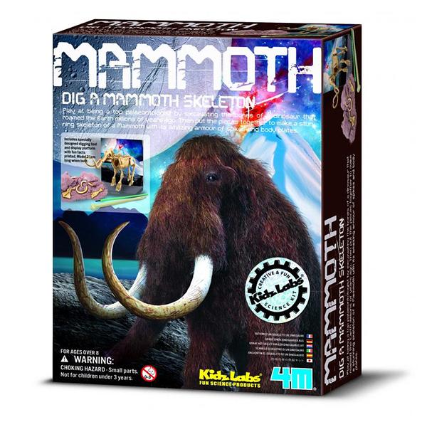 【4M】03236 挖掘考古-挖掘長毛象 Mammoth Skeleton