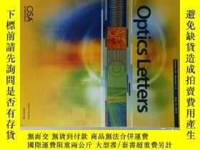 二手書博民逛書店Optics罕見Letters 2014 07 14 光學光子學