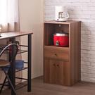 櫥櫃 廚房櫃 收納【收納屋】日式雙門一抽廚房櫃&DIY組合傢俱