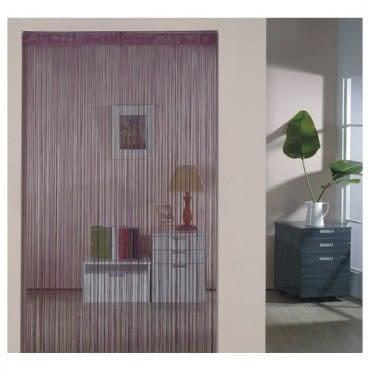 金格拉斯單色細線簾90x180cm紫