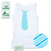 Cutie Bella無袖上衣/背心Necktie-Blue Strip