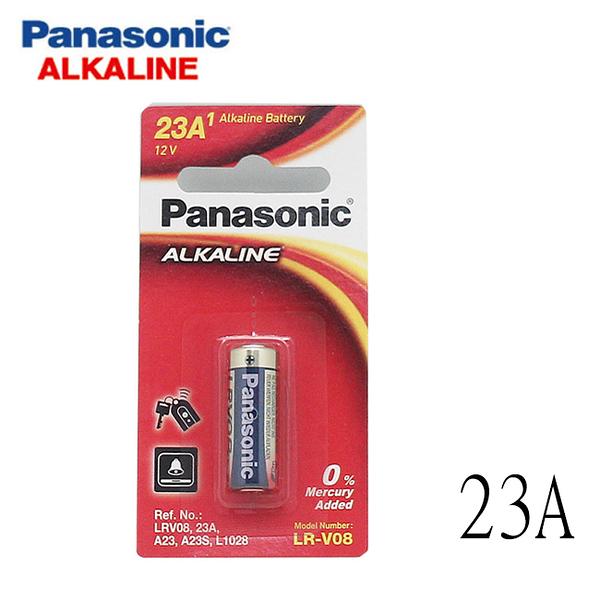 國際牌Panasoni A23 遙控器鹼性電池 1入