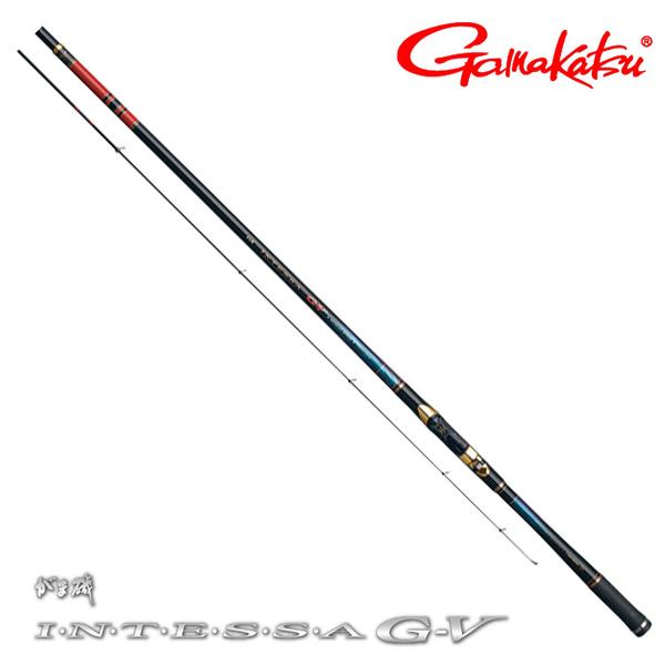 [送3000元折價券] 漁拓釣具 GAMAKATSU 磯 INTESSA G-V 2.5-5.0 [磯釣竿]