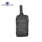 【COLORSMITH】BJ2.單肩方形後背包.BJ2-1327-BK