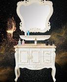 歐式浴室櫃組合PVC落地式簡歐衛生間衛浴櫃整體洗手洗臉盆櫃現貨