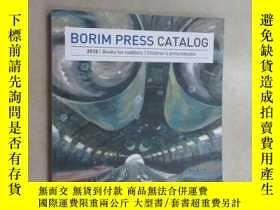 二手書博民逛書店英文書罕見borim press catalog 2018 共7
