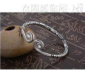 手鐲純銀緊箍咒手鐲情侶女男一對可刻字至尊寶金箍棒大圣歸來悟空 衣間迷你屋