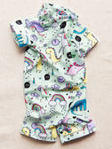 寶寶泳裝嬰兒卡通正韓女寶速幹小童防曬溫泉男童連體兒童泳衣  中元節禮物