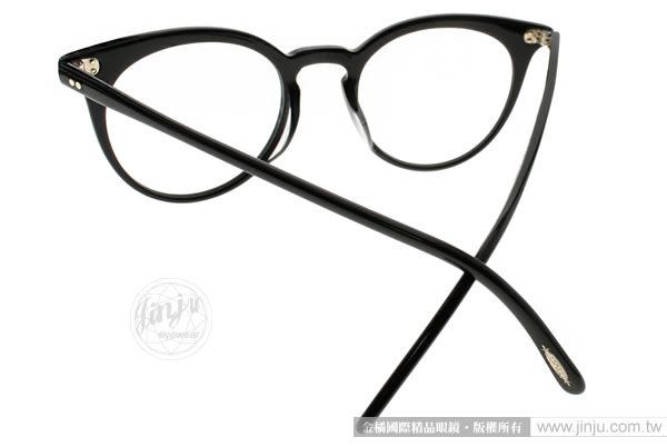 OLIVER PEOPLES 光學眼鏡 JONSI 1005 (黑) 歐美貓眼款 # 金橘眼鏡