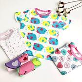 新兒兒短袖上衣 有肩扣系列  兒童上衣 小童 100%純棉