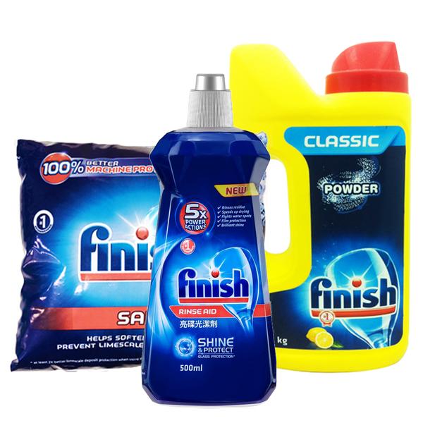 亮碟Finish 洗碗機清潔組