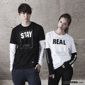 STAYREAL  STAY暖暖長T