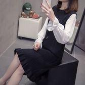 中大尺碼 XL-4XL實拍2019秋款胖妹妹針織連衣裙200斤大碼女裝R66.6235.1號公館