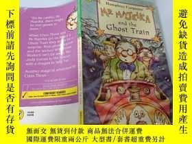 二手書博民逛書店MR罕見MAJEIKA and the Ghost Train(MAJEIKA先生和幽靈火車).Y200392