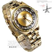 MARC JACOBS 精品錶 晶鑽錶圈 潮流金 鏤空錶盤時刻 36mm 女錶 MBM3338 MJ