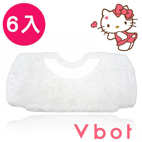 掃地機【Y0021】Vbot x Hello Kitty 掃地機器人專用二代極淨濾網(6入) MIT台灣製 完美主義