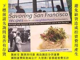 二手書博民逛書店Savoring罕見San Francisco 具體見圖Y156