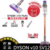 現貨 Dyson Cyclone V10 Fluffy 5+1吸頭 軟質滾筒主吸頭 戴森無線手持吸塵器