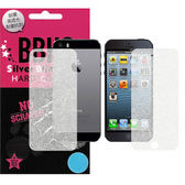 抗刮超滑、台灣製造、靜電吸附~星砂 APPLE iPhone5S 金蔥鑽石螢幕保護貼