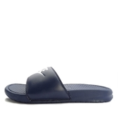 Nike Benassi JDI [343880-403] 男鞋 拖鞋 涼鞋 輕量 舒適 避震 緩衝 深藍 白