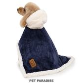 【PET PARADISE 寵物精品】PP 2020新款 深藍質感懶人毯(3S/SS/S) 寵物衣服 秋冬新品