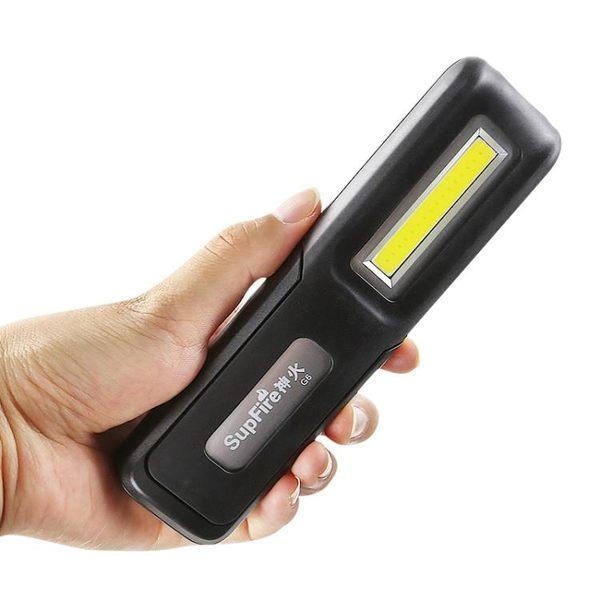 Supfire神火G6帶磁鐵戶外汽修帳篷露營多功能充電led燈強光手電筒igo「Top3c」