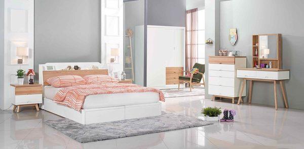 【森可家居】伊森床頭櫃 7JX23-5 木紋質感 無印北歐風鄉村風  MIT