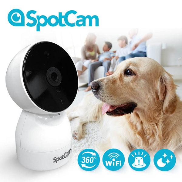 SpotCam HD Eva 廣角+ 可擺頭360度真雲端攝影機