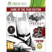 XBOX 360 Batman 蝙蝠俠 阿卡漢城市 年度完整版 (兩片裝) -英文日文版- Arkham City