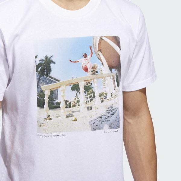【GT】Adidas Originals 黑白 短袖T恤 純棉 運動 休閒 滑板 印花 上衣 短T 愛迪達 三葉草 Logo