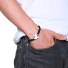 拚圖手鍊 鈦鋼手鍊 個性手鍊 白鋼手鍊 手環 禮物 沂軒精品 F0144