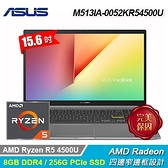 【ASUS 華碩】VivoBook S15 M513IA-0052KR54500U 15.6吋筆電 搖滾黑