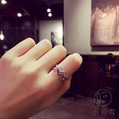 戒指女開口雙層簡約百搭飾品關節指環【小酒窝服饰】