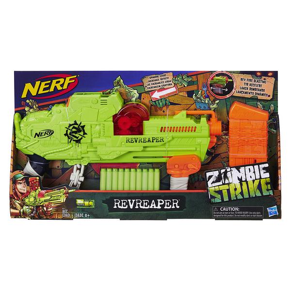 NERF樂活射擊遊戲 Zombie Strike打擊殭屍 RevReaper 速發快擊 TOYeGO 玩具e哥