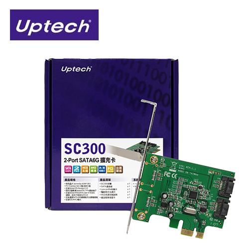 登昌恆 SC300 2-Port SATA6G 擴充卡