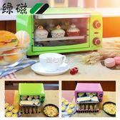 電烤箱綠磁 LVCI09G-BC多功能電烤箱家用小型全自動10升蛋糕烘焙小烤箱  走心小賣場YYP220v