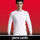 Pierre Cardin 皮爾卡登 排汗厚暖棉圓領長袖衫