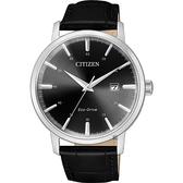 CITIZEN 星辰 光動能簡約手錶-40mm BM7460-11E