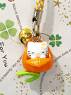 【震撼精品百貨】Hello Kitty 凱蒂貓~手機吊飾-東京限定版