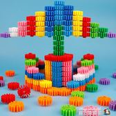 塑料齒輪積木拼插拼裝益智力早教兒童玩具男孩女孩2-3-6周歲  魔方數碼館WD