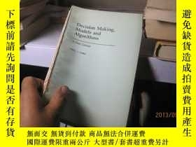 二手書博民逛書店7645罕見判定 模型 和算法?decision?making?