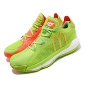 adidas 籃球鞋 Dame 6 GCA McDonalds 綠 黃 男鞋 麥當勞 糖醋醬【ACS】 FX3334