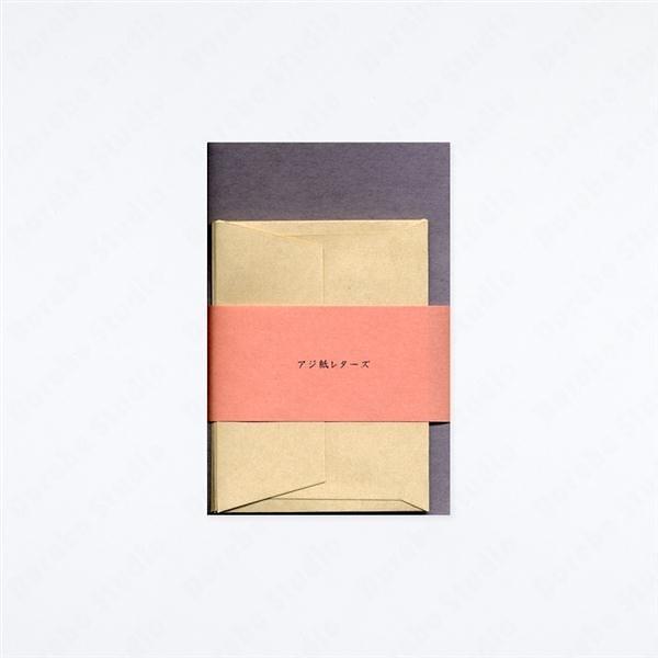 AJIGAMI LETTERS/ASAMURASAKI  SHIRATYA 迷你信紙信封組【Yamamoto Paper】