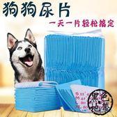 狗狗尿片加厚100片泰迪犬尿不濕貓兔紙尿墊小狗尿布寵物用品【黑色地帶】